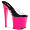 TABOO-701UV Clear/Neon Pink